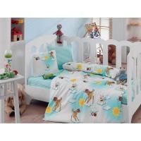 Постельное белье Cotton Box для новорожденных Bambis Turkuaz