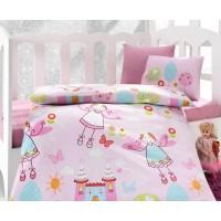 Постельное белье Cotton Box для новорожденных Masal Pembe