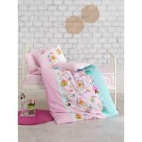 Постельное белье Cotton Box для новорожденных Kusbahcesi Pembe