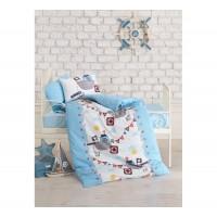 Постельное белье Cotton Box для новорожденных Gemici Mavi
