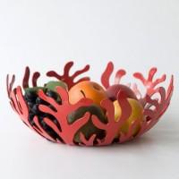 Ваза для фруктов Mediterraneo Alessi 25 см Красная