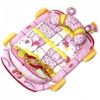 Развивающий коврик Kids II розовый