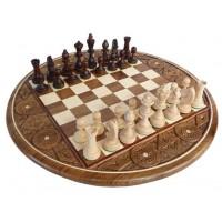 Шахматы Intarsia круглые 3100
