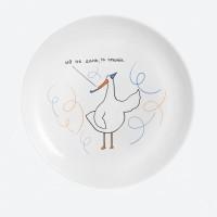 Дизайнерская тарелка Праздник
