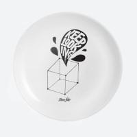 Дизайнерская тарелка Keep looking