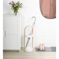 Подставка для зонтов Hub Umbra Белая Natural