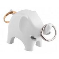 Держатель для колец Anigram Elephant Umbra Белый Хром