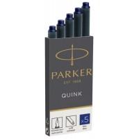 Картриджи Parker Quink 5шт. синие 11 410BLU