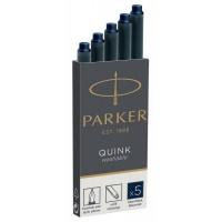 Картриджи Parker Quink 5шт. тёмно-синие 11 410BLB