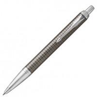 Шариковая ручка Parker IM 17 Premium Blue CTDark Espresso Chiselled CT