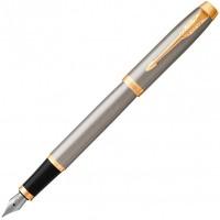 Перьевая ручка Parker IM 17 Brushed Metal GT