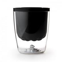 Ведерко для льда Polar Ice Bucket Qualy Черное