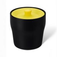 Емкость для хранения чая, кофе или специй Notin PO Selected черно-желтая