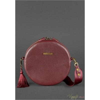 edca7b4204d1 Круглая сумка BlankNote Tablet марсала, купить Круглая сумка ...