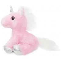 Мягкая игрушка Aurora Единорог Pink сияющие глаза 30 см