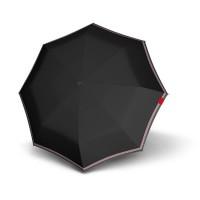 Зонт складной Knirps T.010 Small Manual Id Black Kn9530104050