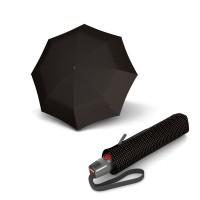 Зонт складной Knirps T.200 Medium Duomatic Watson Tobacco