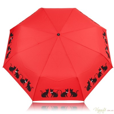 Женский зонт автомат Doppler DOP7441465C06-red
