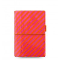 Органайзер Filofax Domino Personal Patent Orange-Pink Stripes