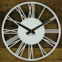 Часы настенные Glozis Rome White