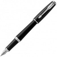 Перьевая ручка Parker Urban URBAN 17 Muted Black CT FP F 30111