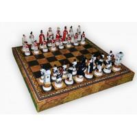 Шахматные фигуры Nigri Scacchi Битва при Ватерлоо medium size