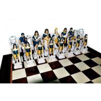 Шахматные фигуры Nigri Scacchi Римляне и египтяне extra size