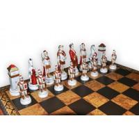 Шахматные фигуры Nigri Scacchi Бой римлян с варварами medium size