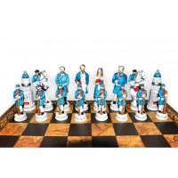 Шахматные фигуры Nigri Scacchi Битва при Геттисберге medium size