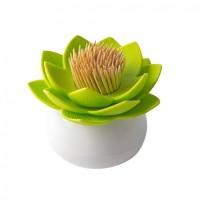Подставка для зубочисток Lotus Qualy Белая