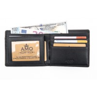 Портмоне AMO Accessori Business ST-600-black