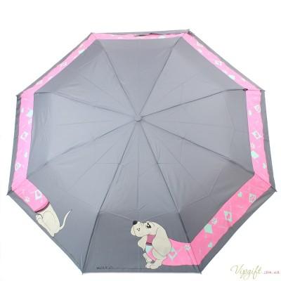 Женский зонт полуавтомат H.DUE.O HDUE-241-4