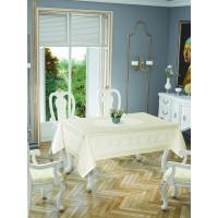Скатерть Tabe Tropik home Priencly Cream 5698-2