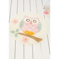 Коврик для ванной Chilai Home OWL EKRU