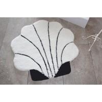 Коврик для ванной Chilai Home SHELL EKRU