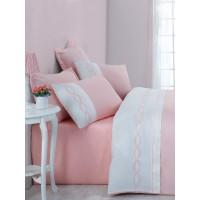 Комплект постельного белья Cotton box SOLARE PEMBE