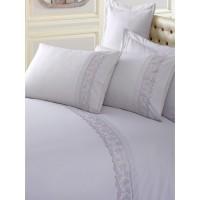 Комплект постельного белья Cotton box ранфорс с вышивкой GRI