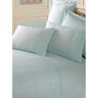 Комплект постельного белья Cotton box ранфорс с вышивкой MINT