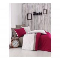 Комплект постельного белья Cotton box Plain Sport BORDO