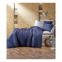 Комплект постельного белья Cotton box Plain LACIVERT
