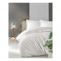 Комплект постельного белья Cotton box Elegant BEYAZ