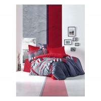Комплект постельного белья Cotton box ROXY KIRMIZI