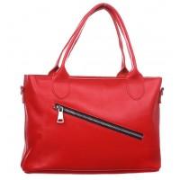 Женская кожаная сумка Dekey Ли красная