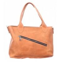 Женская кожаная сумка Dekey Ли рыжая