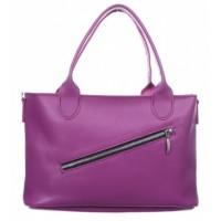 Женская кожаная сумка Dekey Ли Фуксия