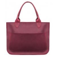 Женская кожаная сумка Перфекто марсала