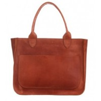 Женская кожаная сумка Перфекто Коньяк