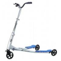 Cамокат GO Travel Speeder средний серебристо-голубой