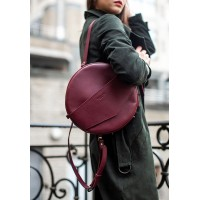 Круглая сумка-рюкзак BlankNote maxi виноград