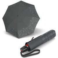 Зонт складной Knirps T.200 Solid Asphalt Reflective Kn95 3200 8276